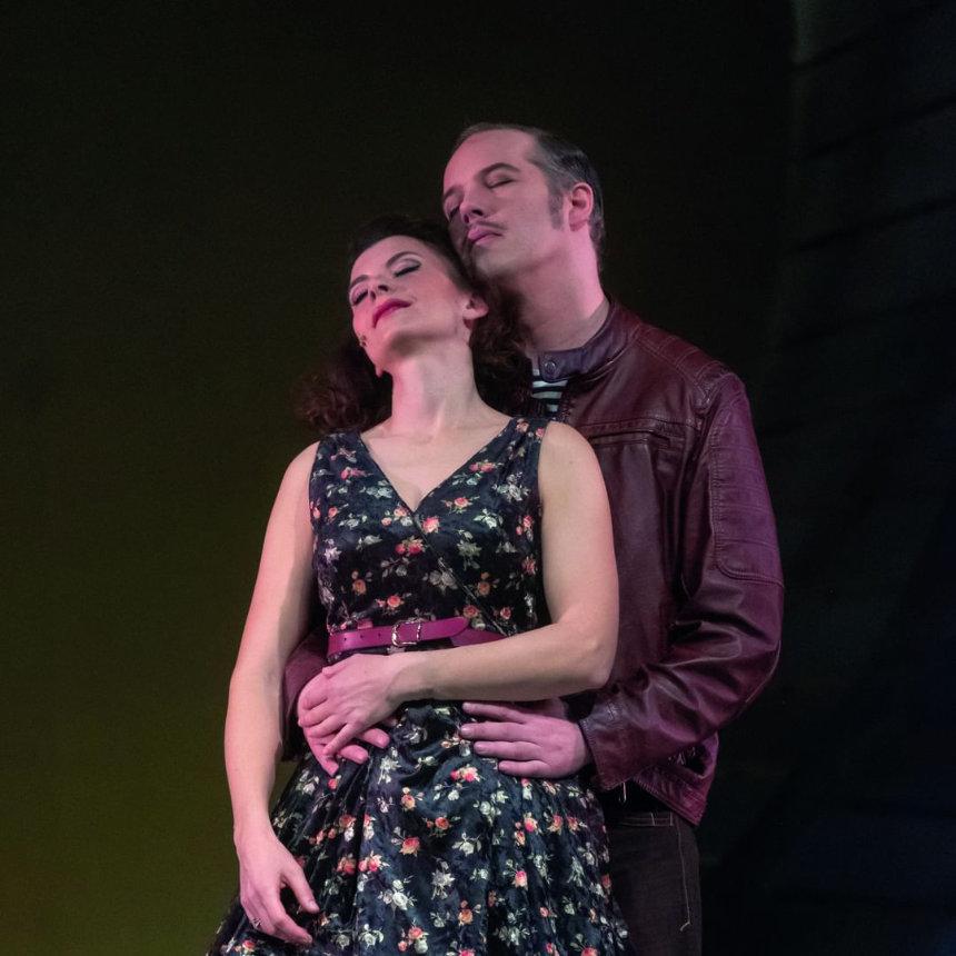 Bühnenfoto von der Oper Liliom